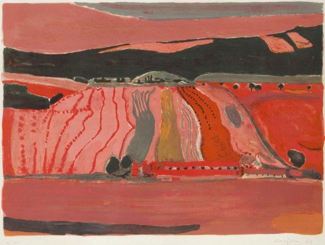 Henryk Hayden (1883 - 1970) Landscape with fields, : Lot 70