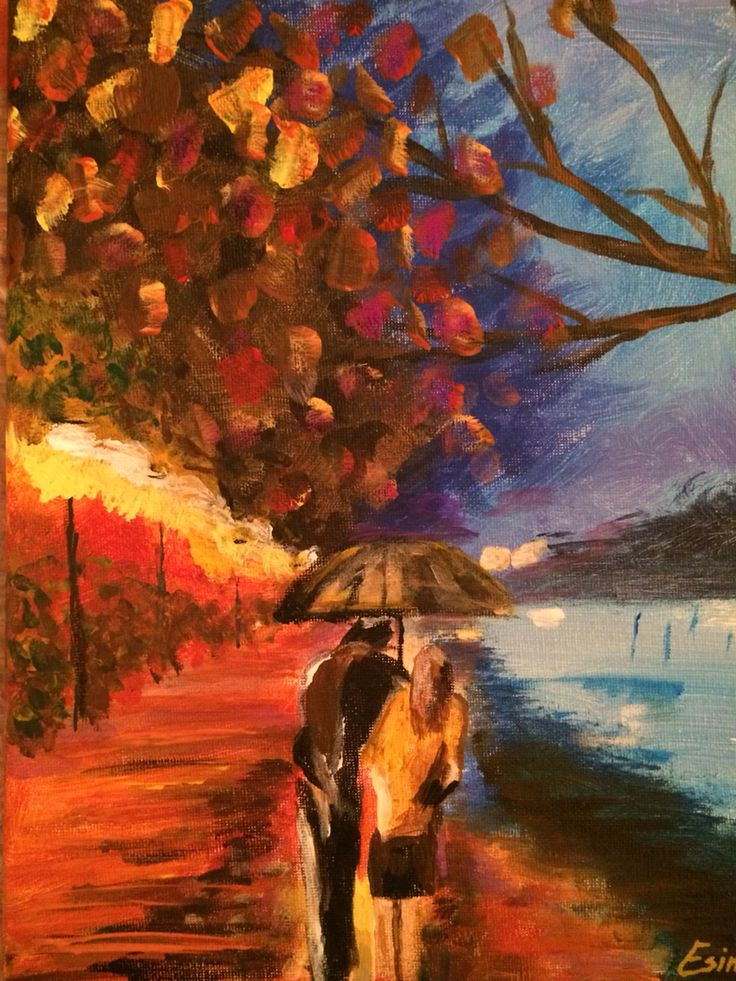Painting by Leonid Afremov, this one is made by me
