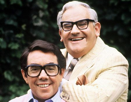 The Two Ronnies - I swear to god, when Ronnie Corbett dressed as a woman, he was the spitting image of my Great Aunt...
