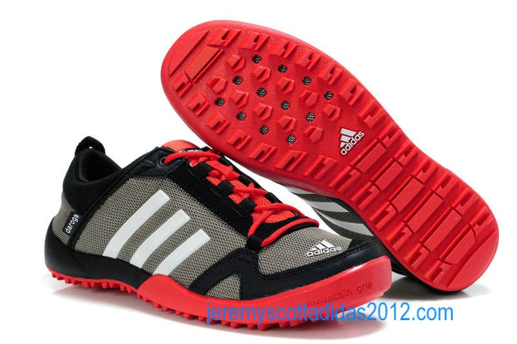 Mens Adidas Daroga 2.0 11 2012 CC Mesh Grey Black Crimson v21565