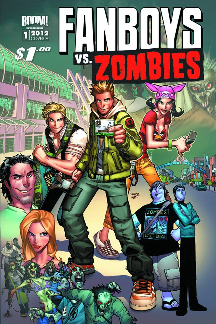 Fanboys Vs Zombies #1 Main Cvrs