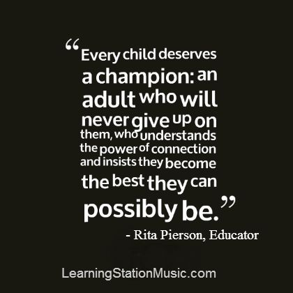 This is an honored quote from a great educator who devoted her life to children.  #parenting #quotes #education