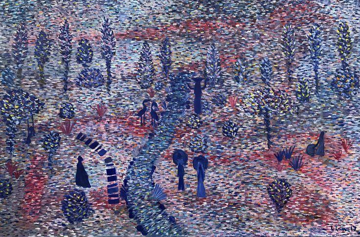 """Royal Gardens"" by artist Leto Lama"