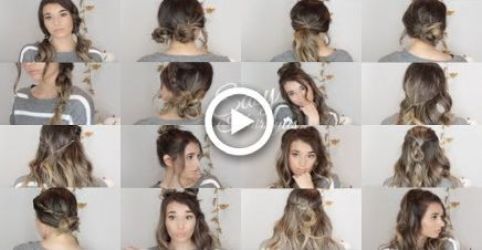 20 Fall / Winter Hairstyles QUICK & EASY