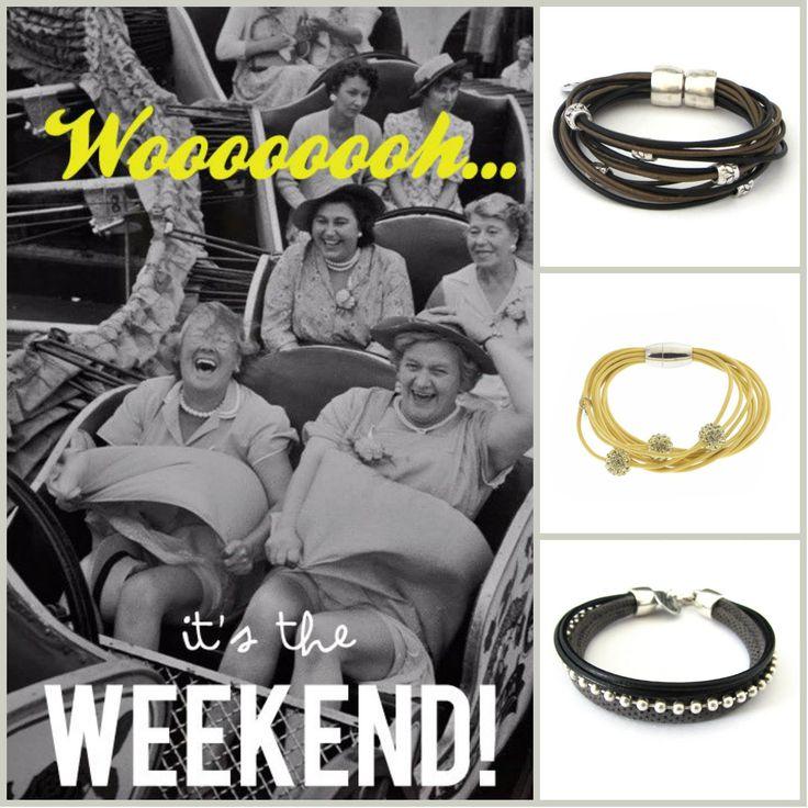 It's Weekend!  www.HippeSieraden.com