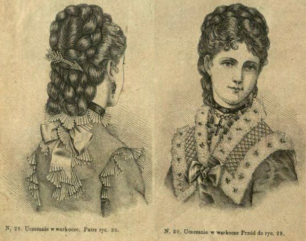 149 best victorian hairstyles images on pinterest victorian uczesanie z warkoczami 1875 hairstyle with braids 1875 victorian ccuart Image collections
