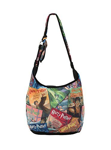 Harry Potter Book Covers Collage Hobo Bag