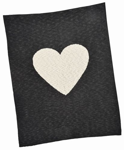 Made with care for little ones, this Heart Baby Blanket is both comforting and a lovely keepsake.