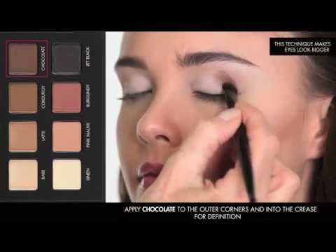 A step-by-step tutorial on how to achieve a classic Smokey Brown Matte Eye featuring the PRO Matte Eye Shadow Palette. Watch now!