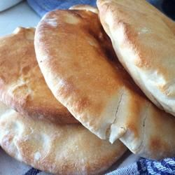 """Peppy's Pita Bread """"I agree with other reviewers that these pitas excel far above those you can buy at the store.""""Bakette"""