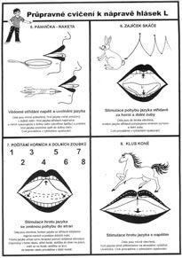 logopedie - nácvik hlásky L - Hledat Googlem