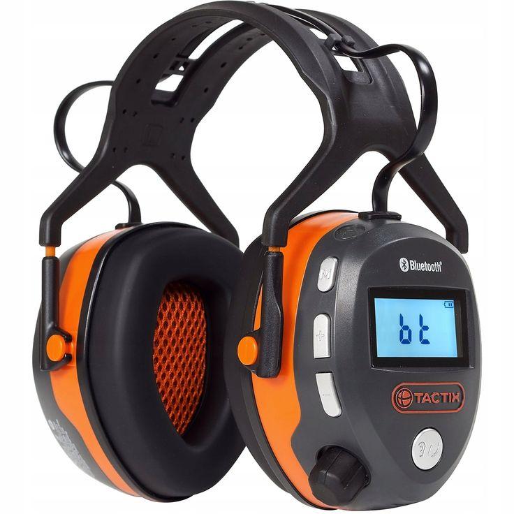 Kup Teraz Na Allegro Za 265 Zl Sluchawki Ochronne Bluetooth Fm Tactix Premium 8760426949 Allegro Pl Radosc Zakupow I Bezp In 2020 Bluetooth Headphones Headset
