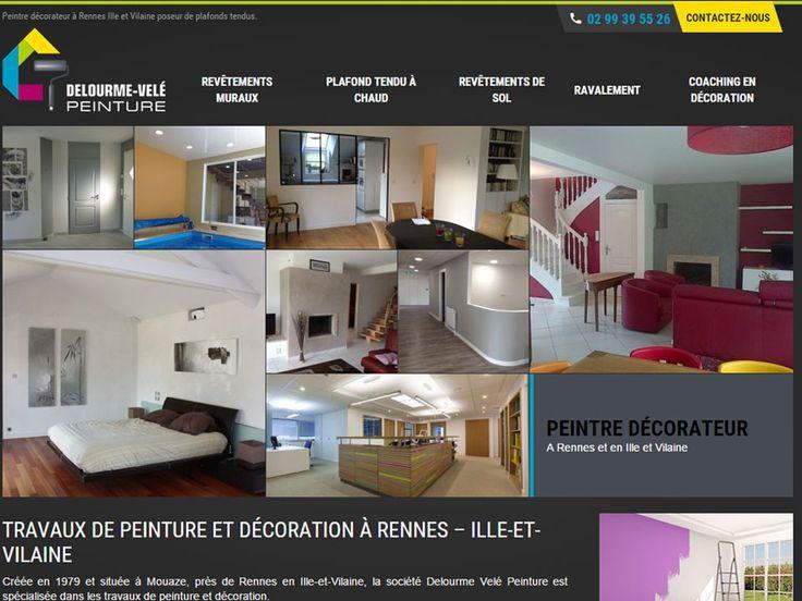 Delourme votre peintre décorateur et poseur de plafonds tendus sur Rennes