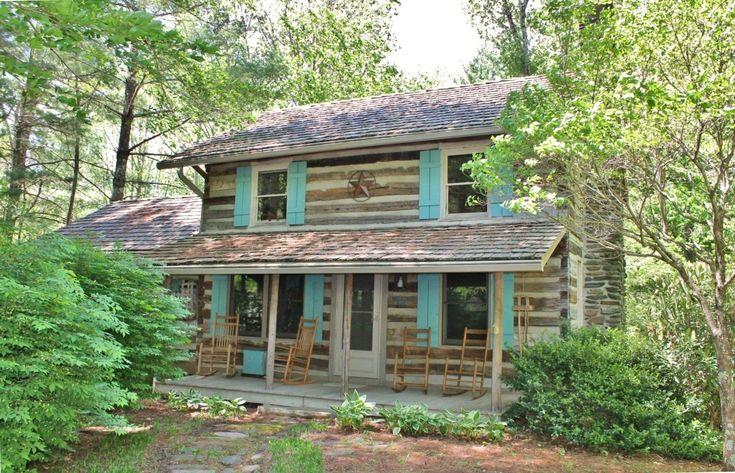 Stonebridge Creekside Log Cabin