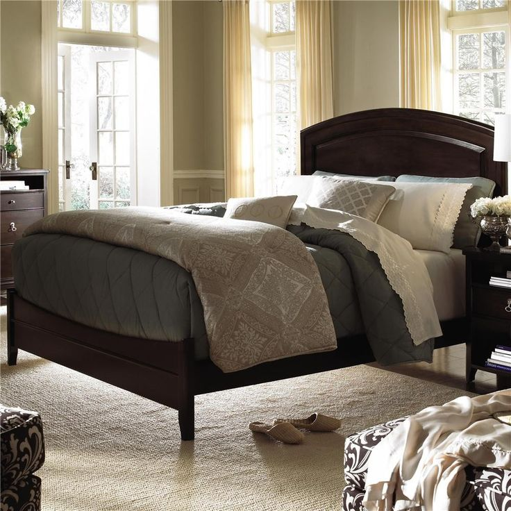 Kincaid Alston Solid Wood Panel Bedroom Set