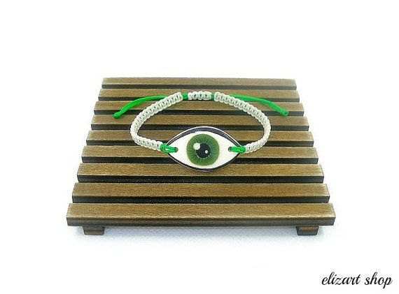 Evil eye bracelet protection bracelet evil eye by elizartshop
