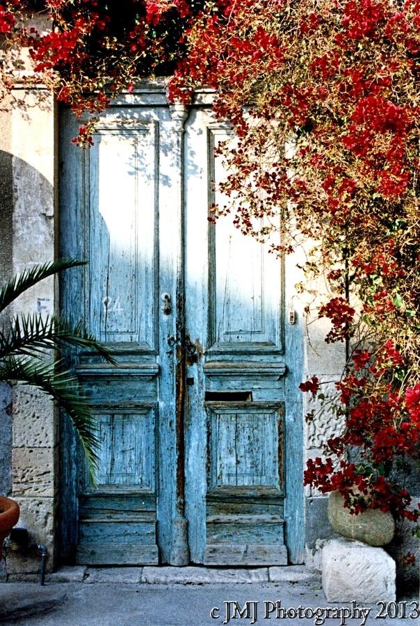 A door way in Limassol, Cyprus