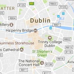 Find the address and directions to The Guinness Storehouse, located in the heart of Dublin.