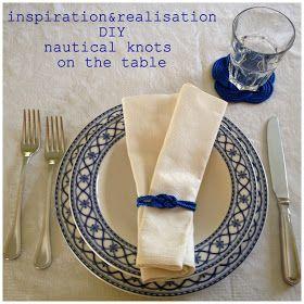 inspiration and realisation: DIY fashion blog: DIY nautical coasters
