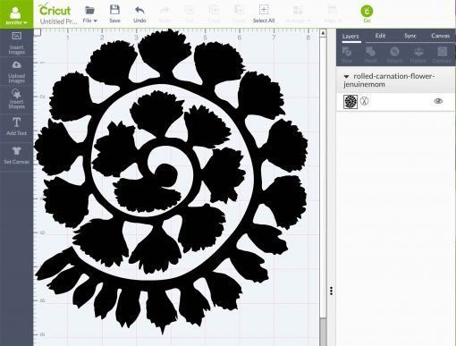 Download Rolled Paper Carnation Tutorial - Free SVG Files ...