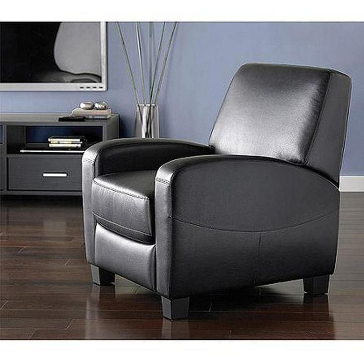 Black Theater Recliner Home Movie Chair Leather Recliner Chair