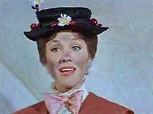 Day 16: Fav Singing Voice - Julie Andrews - Mary Poppins