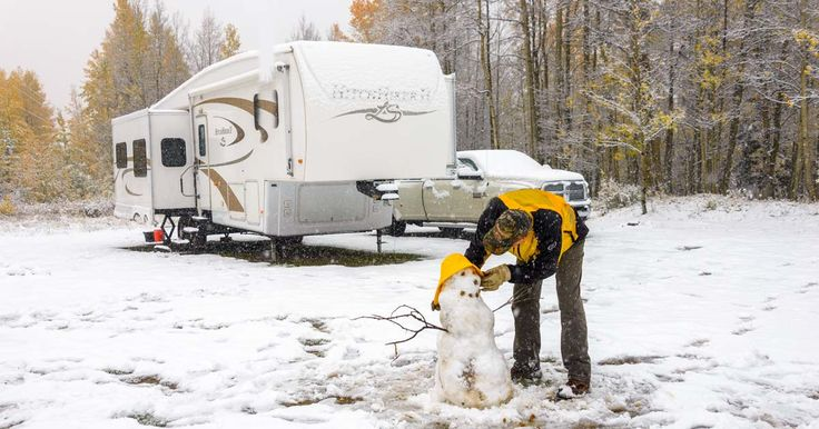 How to heat an rv in cold weather and winter snow storms