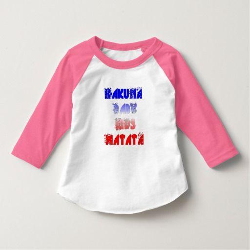 De Franse Amerikaanse Kleding T van Hakuna Matata #Hakuna #Matata #Kleding