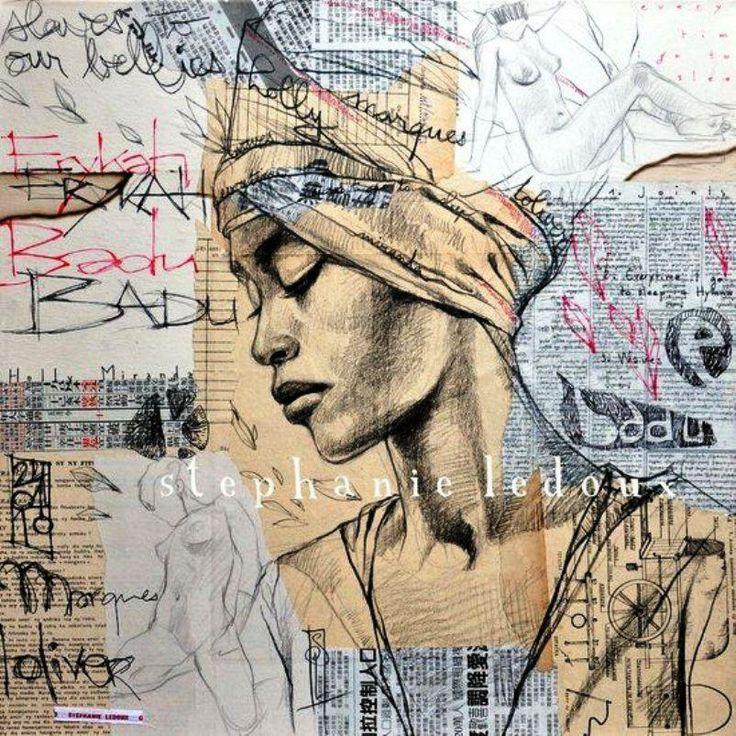 """""""Erykah Badu"""" by Stephanie Ledoux"""