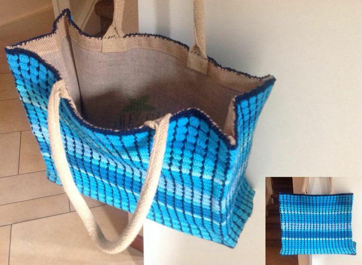 Gemaakt door Marian Voorpostel & 53 best Sas tas images on Pinterest | Doors Crochet bags and Bags Pezcame.Com