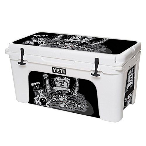 MightySkins Protective Vinyl Skin Decal for YETI Tundra 75 qt Cooler wrap cover sticker skins Freakenstein -- You can find out more details at the link of the image.(This is an Amazon affiliate link and I receive a commission for the sales)