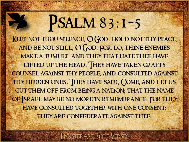 They have taken crafty counsel against thy people, and consulted against thy hidden ones.