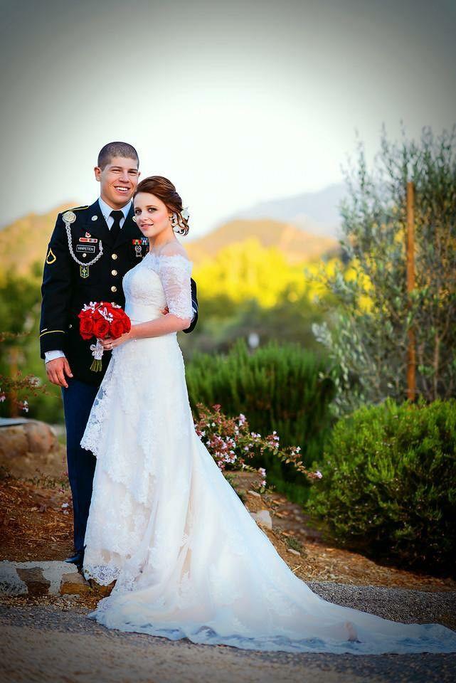 Customized Wedding Dress for Lauren's Military Wedding | Ieie's Bridal Wedding Dress Boutique