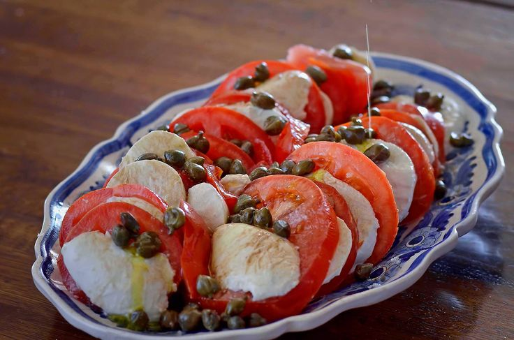 Being certainly infulenced by #italy we have also included the so delicious and famous #caprese! #Service #Luxury #Corfu #Villa   Photo (C) Menelaos Sykovelis