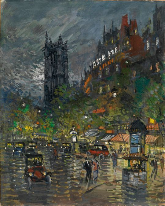 Paris, by Konstantin Korovin