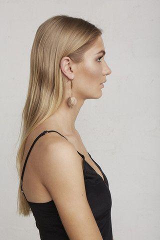 Marbled Gem Earrings – Limedrop
