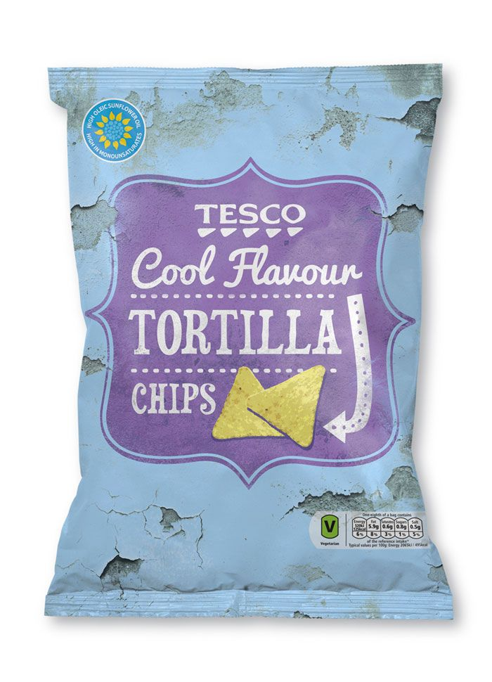With the re-design Tesco have launched a premium range of Mexican flavours with a twist