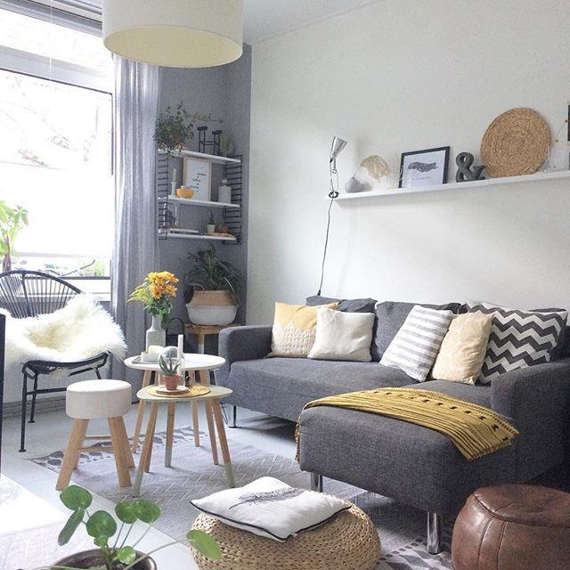 T h u i s | A house you build, a home you create! Enjoy today #scandinavisch#scandicinterior#bijzettafeltjes#interior#interieur#interieurstyling#interiorstyling#interiordesign#myhome#myhome2inspire#inspiratie#woonkamer#woonkamermeubelen#woonkamerinspiratie#livingroom#livingroomdetails#flowers#yellow#geel#okergeel#zithoek#ilovemyinterior#kussens#pillows#vtwonenbijmijthuis#flairnl#draadstoel#kleinwoongeluk#lifestylguide#showhometop5