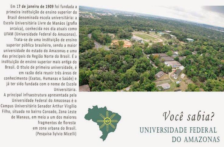 #CNSPNotícias - Você sabia? - 17 de janeiro de 2015 - Escola Universitária Livre de Manáos ~ Jornalista Sylvio Micelli