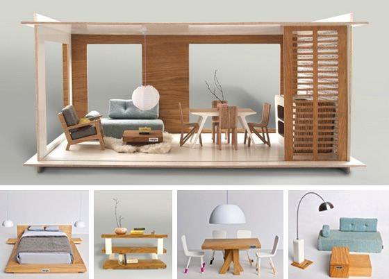 The 25 Best Modern Dollhouse Ideas On Pinterest