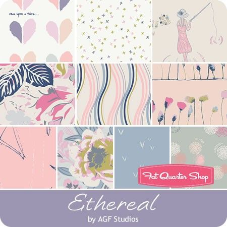 Ethereal Fat Quarter Bundle <br/>Fusions by AGF for Art Gallery Fabrics - beautiful but maybe too gray?
