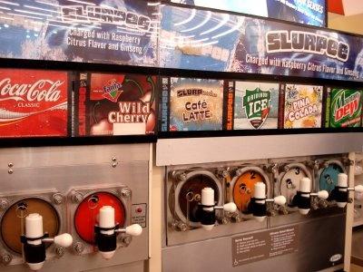 7-11 Slurpee-best combo is: Coke and Crush Orange or Cream Soda