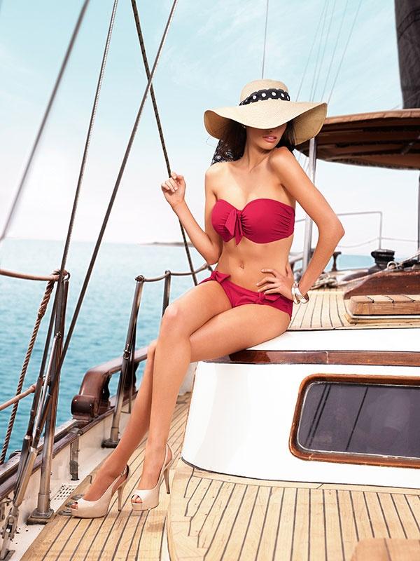#Panache Red Bikini   My Trends