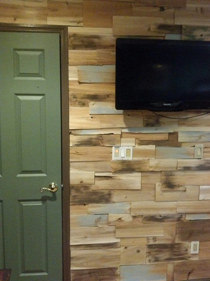 My Boys Wanted Their Room To Look Like A Rustic Cabin From