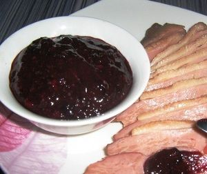 Black currant sauce.Sauce is one of the major additions to any dish.It gives an unforgettable taste of food. Sauce is one of the most important attributes of any national cuisine.There is a huge variety of sauces.We'll try to give you the best and most useful of these.