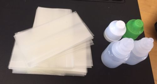 Empty Dropper Bottles 3-5ml-Shrink Wrap Tampering Seal Sleeves Band-Dripper- Business, Office & Industrial:Packing & Posting Supplies:Other Packing Supplies #forcharity