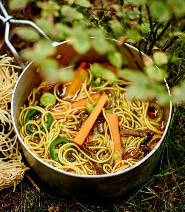 Outdoorový ramen , Foto: Outdoorová kuchařka