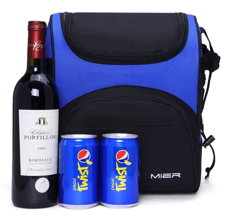Mier Lunch Bag Large Insulated Picnic Cooler Bag Men Women Reusable Lunch Box 2L