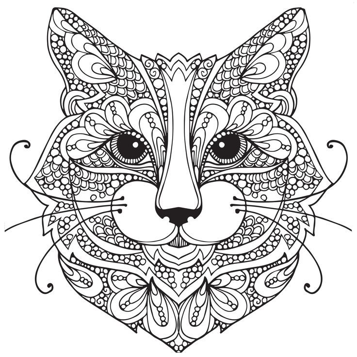 cat coloring page free - Google Search