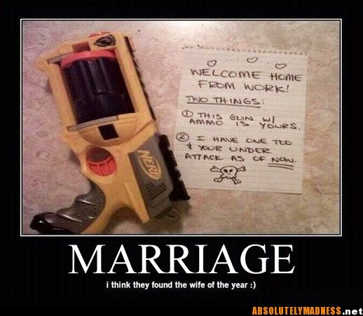 Awesome: One Day, Ideas, Nerf Gun, Stuff, Wedding, Funny, Things, I Will
